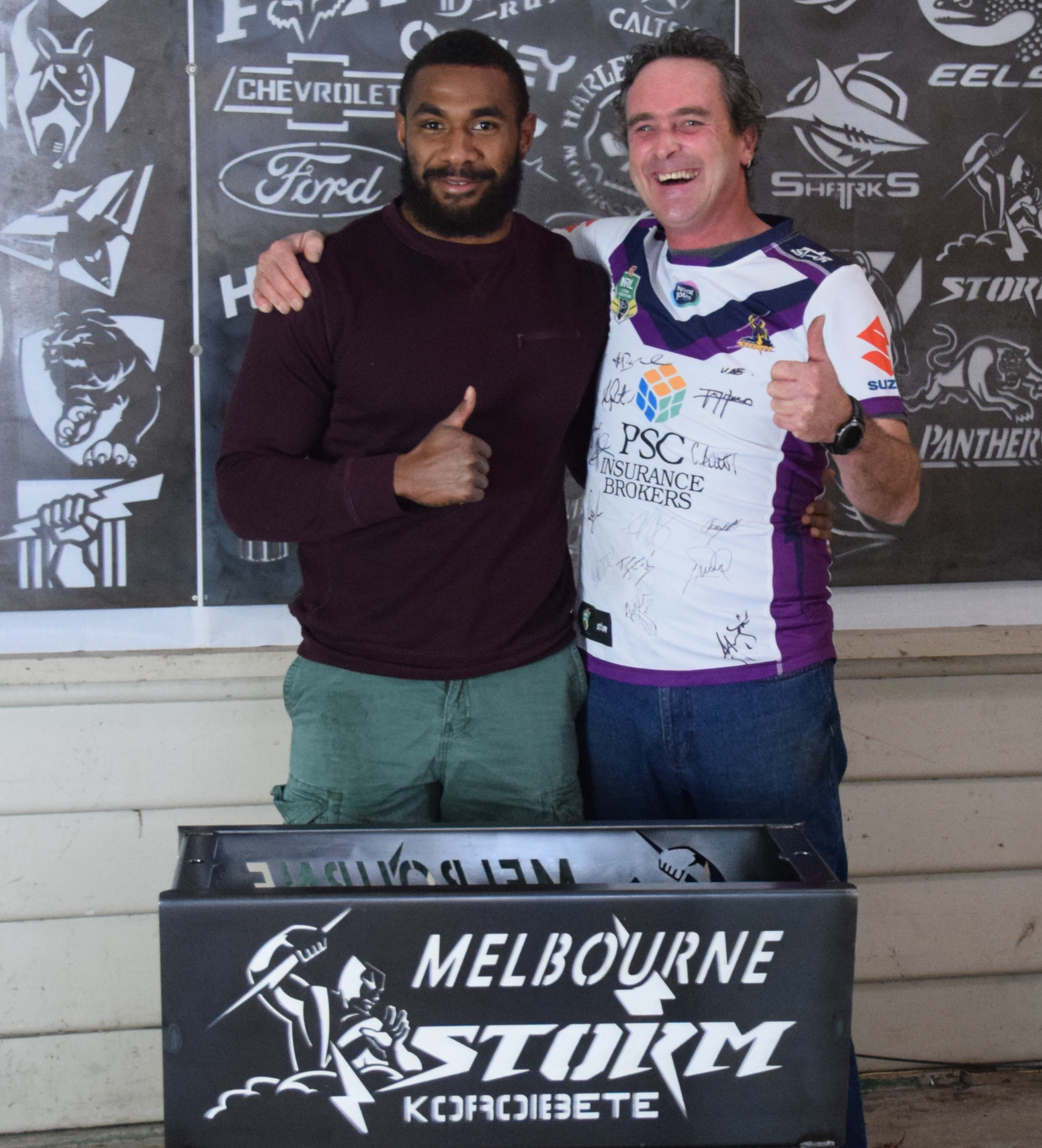Koroibete from Melbourne Storm and Al